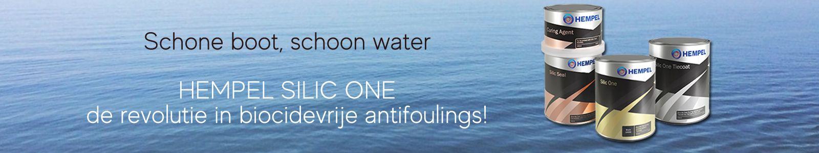 Hempel Silic One schone boot schoon water